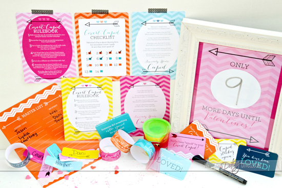 Free Valentine's Day Printable Pack