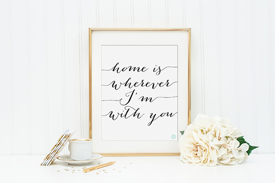 Craft Mei Crafts: Home Is Wherever Im With You