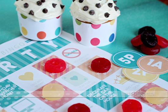 Creative Birthday Bingo Present