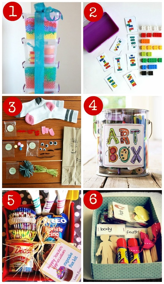 DIY gifts creative kits for kids