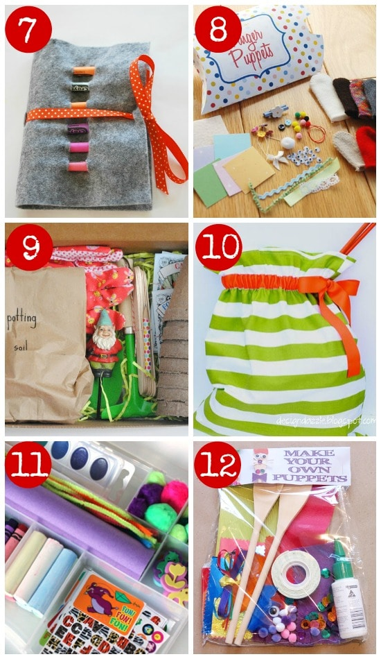 DIY creative kits for kids