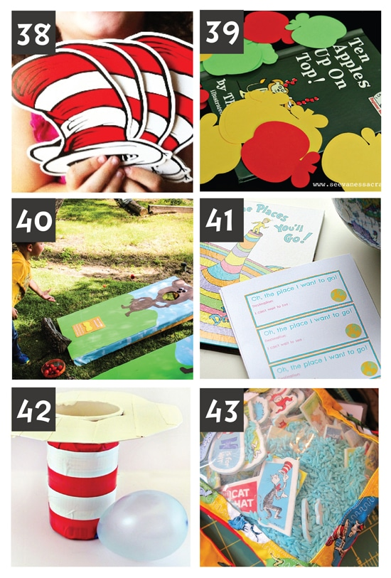 Dr. Suess Activities