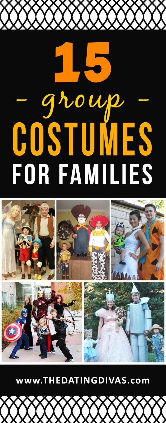 Halloween Costumes for the Entire Family
