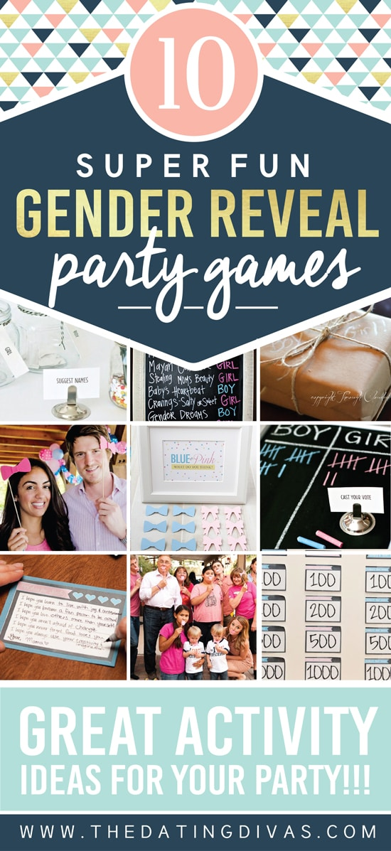 Creative Gender Reveal Games and Activities