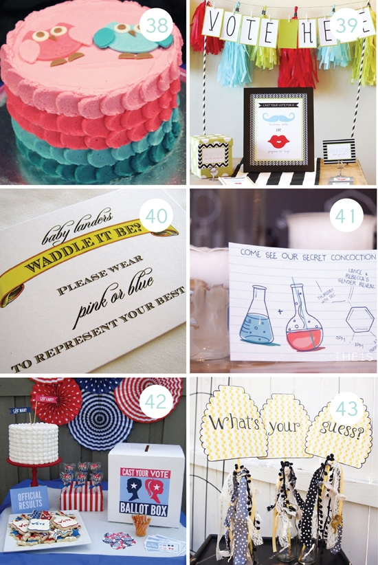 Creative Gender Reveal Party Ideas