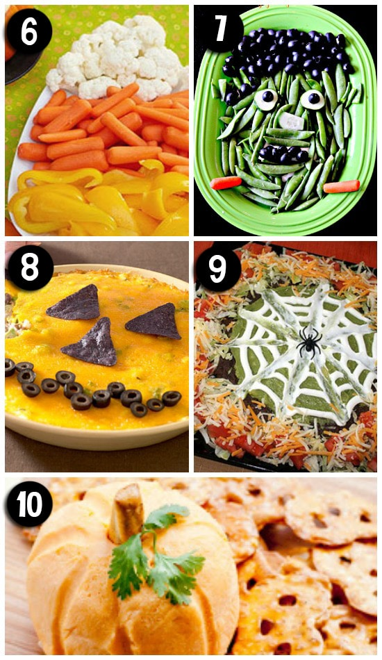 Creative Halloween Themed Appetizers and Snacks