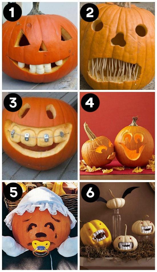 Creative Jack O Lantern Pumpkin Designs