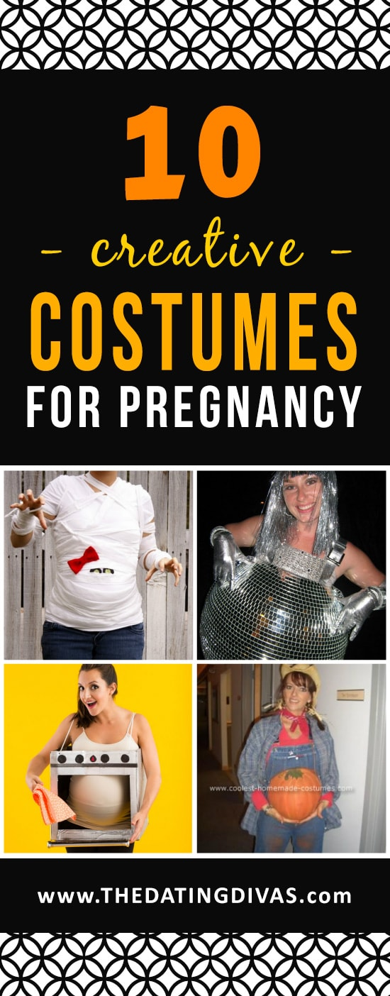 Maternity Halloween costume ideas for pregnancy!