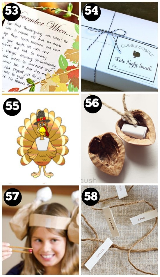 Creative Thanksgiving Day Traditions