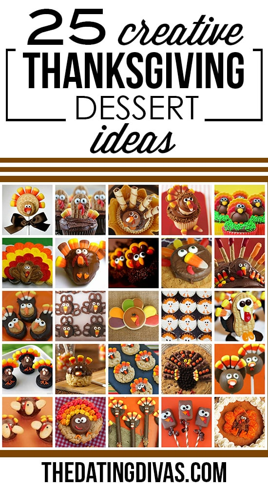 Creative Thanksgiving Dessert Ideas