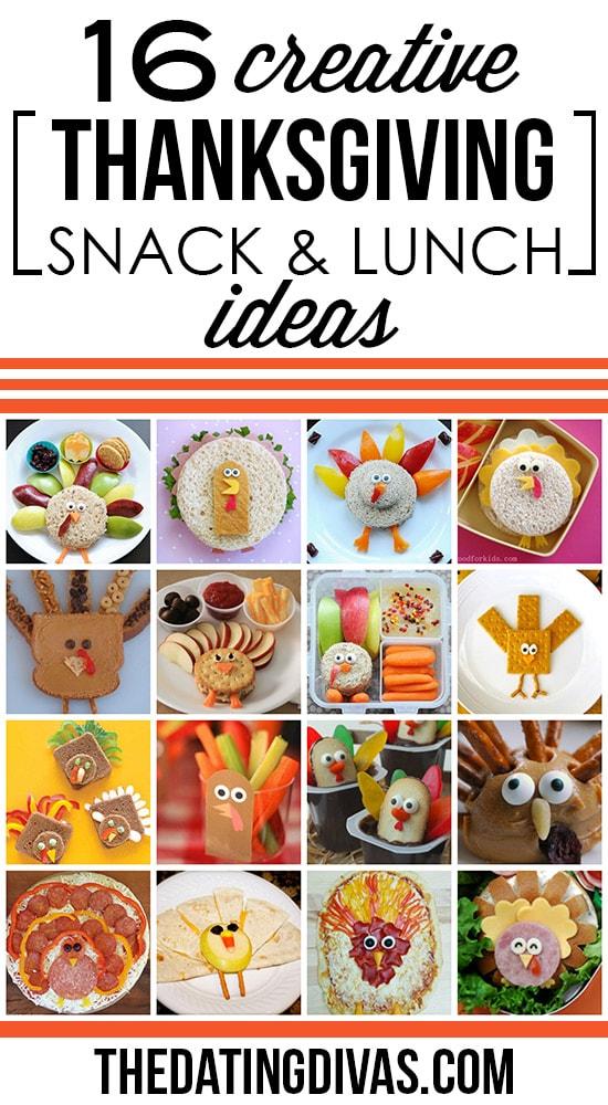 Creative Thanksgiving Lunch Ideas