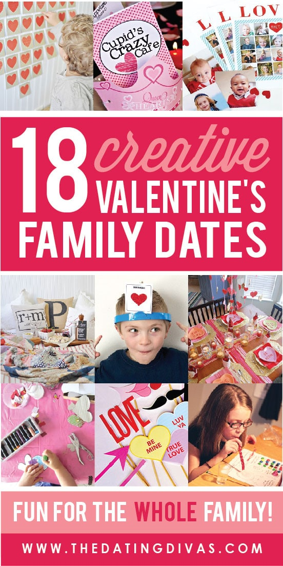 100 Date Ideas for Couples and Family for Valentine's Day