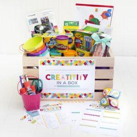 Creativity in a Box Boredom Buster