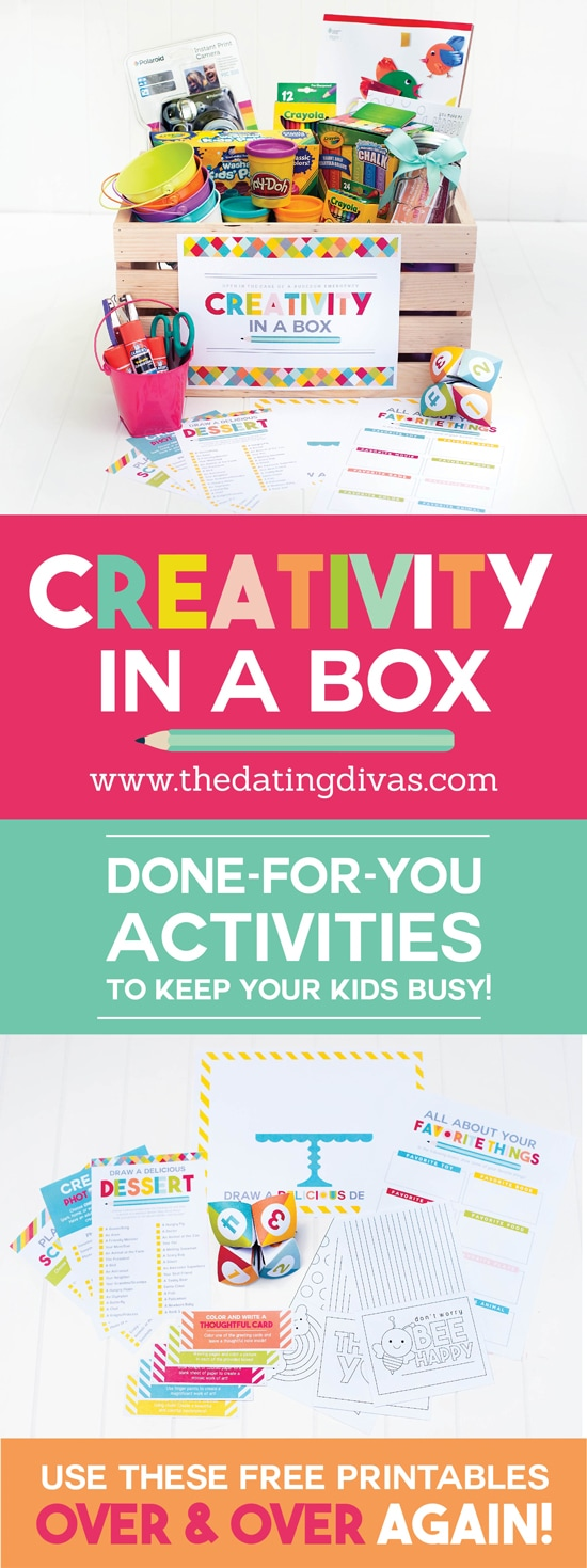 Creative Activities for Kids in a Box