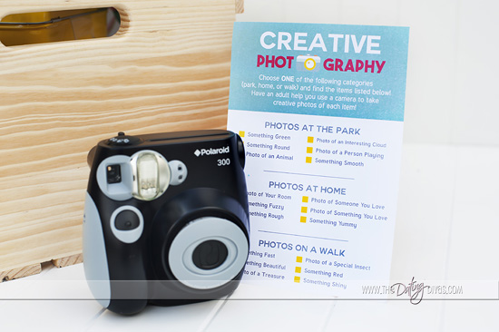Creativity in a Box Kids Photo Scavenger Hunt Activities
