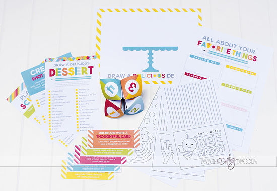 Creativity in a Box Activity Printables