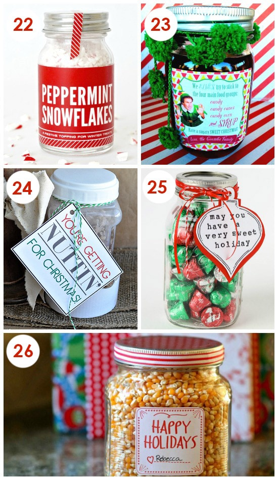 Funny diy christmas gifts for friends 101 quick and easy Cute homemade christmas gifts