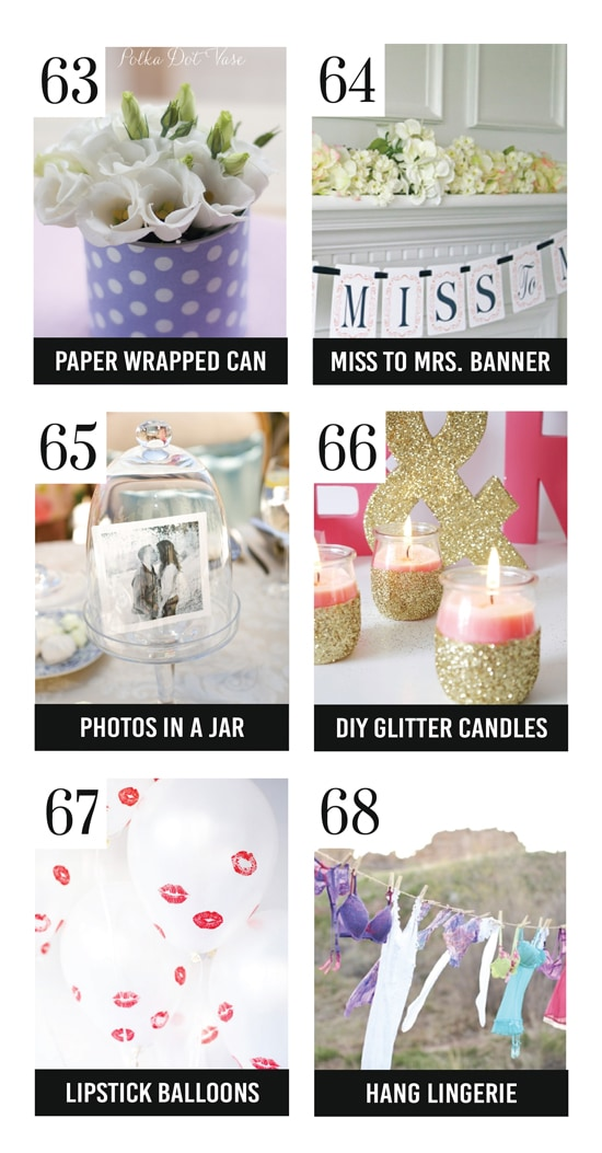 Bridal Shower Gifts & Gift Ideas the Bride Will Love