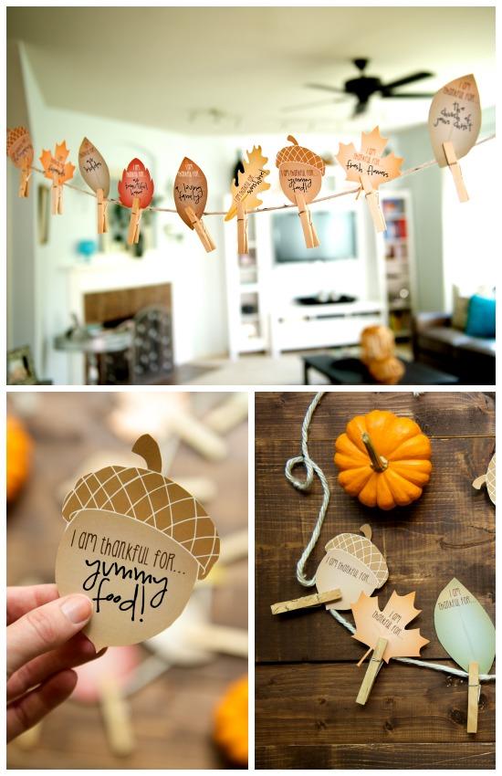 Cute DIY Fall Garland