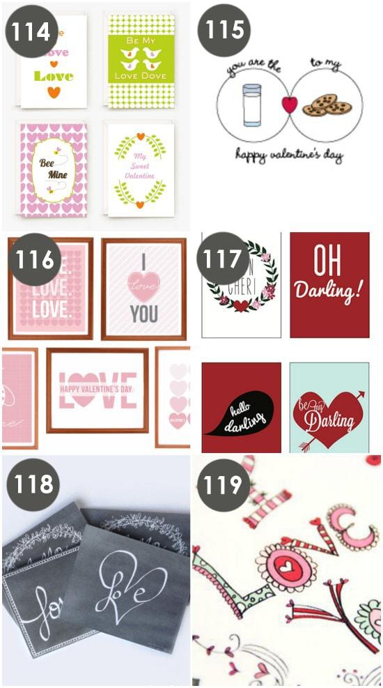 Cute Free Valentine Cards