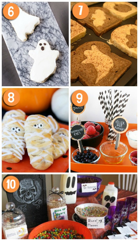 Cute Halloween Breakfast Ideas for Kids