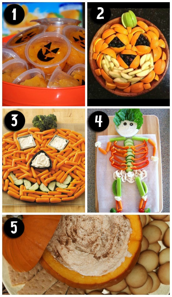 Cute Halloween Themed Food Tray and Platter Ideas