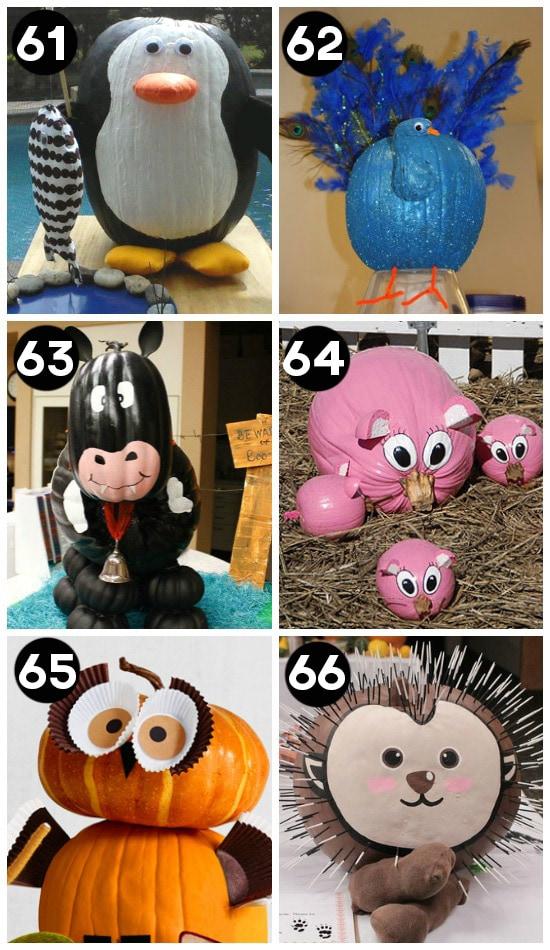 Cute Pumpkin Decorating Ideas