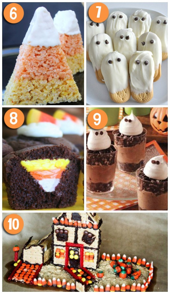 Cute and Creative Halloween Desserts