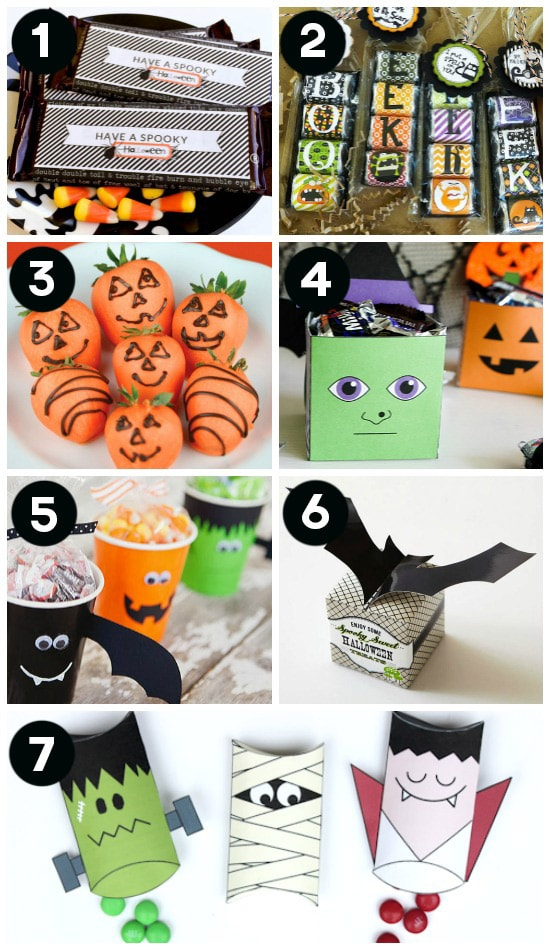 cute and easy halloween gift ideas - Cute Ideas For Halloween
