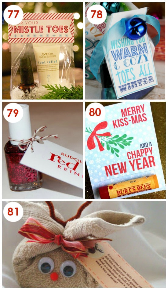 Cute and Easy Holiday Gifts