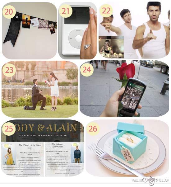 Proposal gifts for boyfriend