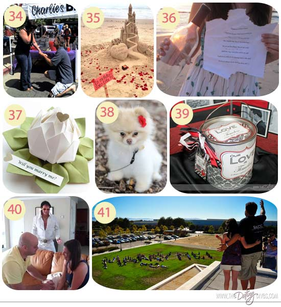 75 Most Creative Marriage Proposal Ideas The Dating Divas