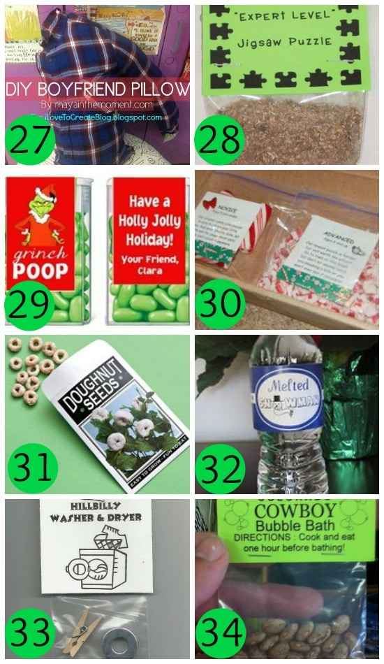 DIY Gag Gift Ideas