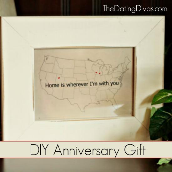 DIY Anniversary Gift