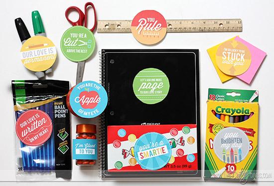 DIY Back to School Gift Basket Plus Printables