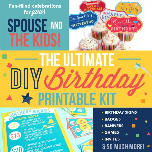 DIY Birthday Party Kit
