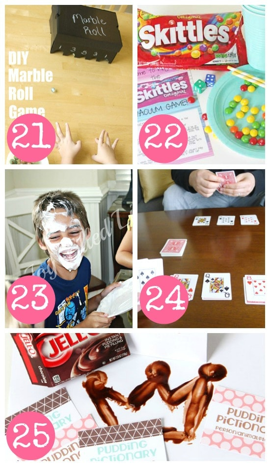 Indoor Games for the Whole Family