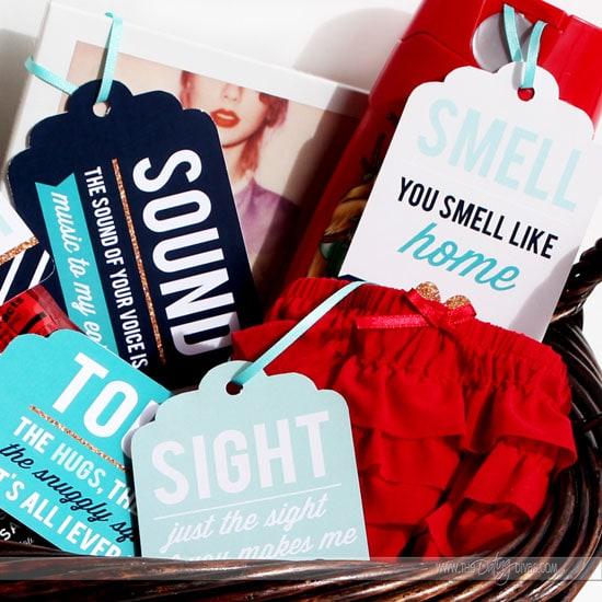 DIY Gift Basket 5 Senses Surprise