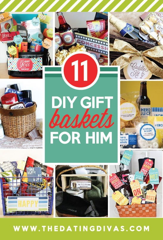 christmas gift baskets for him - Homemade Christmas Gifts For Boyfriend