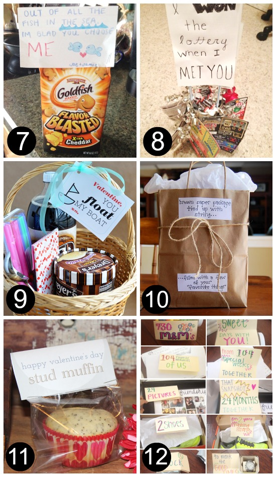 DIY Gifts for Him Just Because 7-12