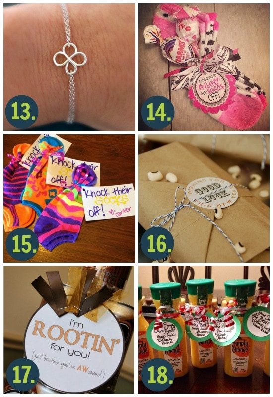 Easy Good Luck Gift Ideas