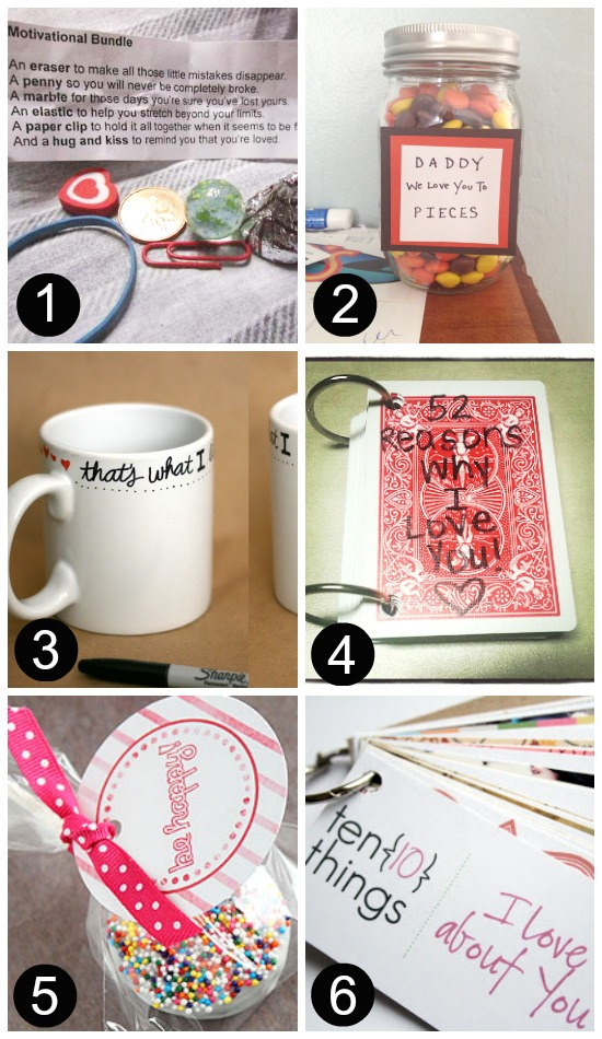 DIY Just Because Gifts for Him 1-6