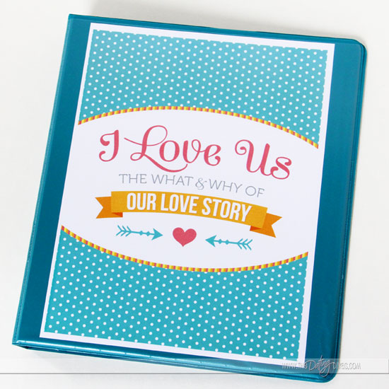 DIY Love Journal Binder