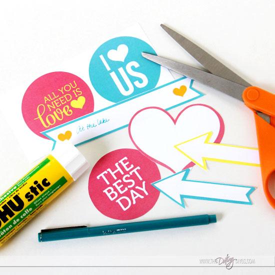 DIY Love Journal Photo Embellishments