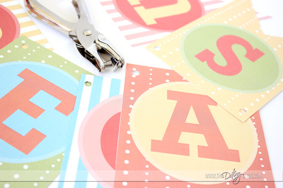 DIY Mother's Day Banner Gift