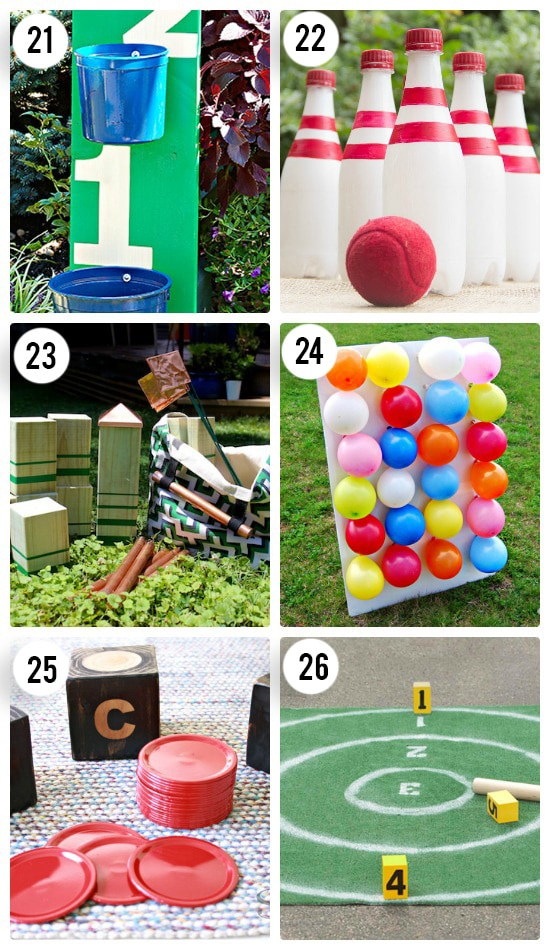 6 DIY Outdoor Games