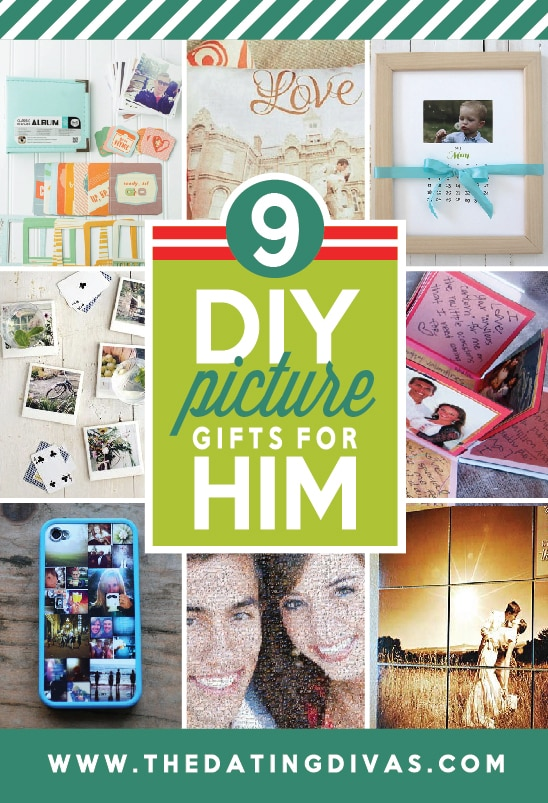 DIY Picture Project Gifts for Him from The Dating Divas
