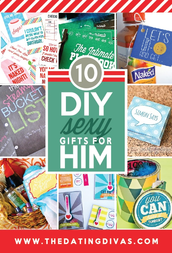 10 DIY Sexy Gifts for Him from The Dating Divas