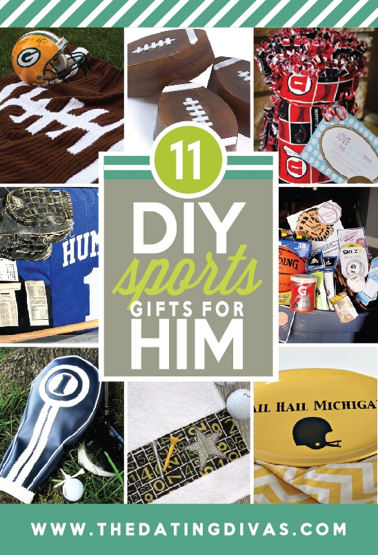 11 DIY Sports Gifts for Him from The Dating Divas