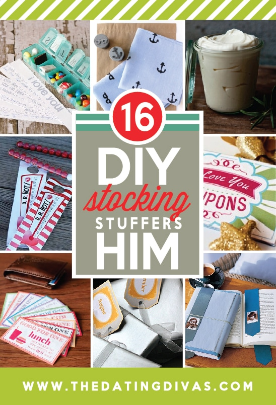 16 DIY Stocking Stuffers for Him from The Dating Divas